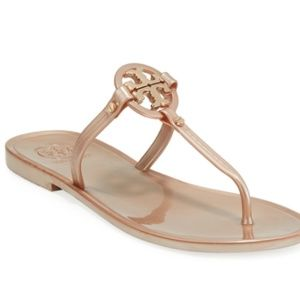 1f6fe307d2f0 Tory Burch Shoes - Tory Burch Mini Miller Jelly Sandals ROSE GOLD